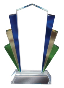 Bevelled Edge Glass Award