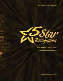 2019 5 Star Recognition Catalogue